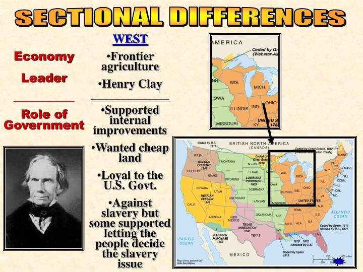 SECTIONAL DIFFERENCES
