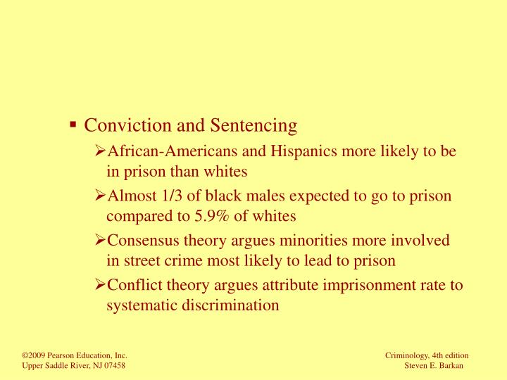 Conviction and Sentencing