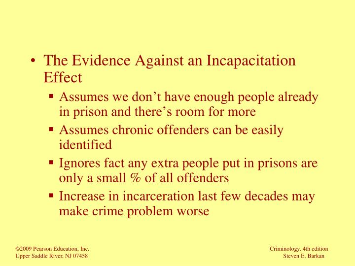 The Evidence Against an Incapacitation Effect