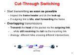 cut through switching1