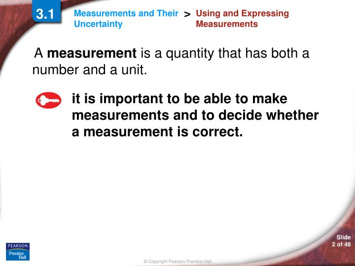 Using and expressing measurements1