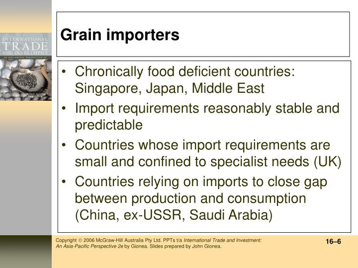 Grain importers