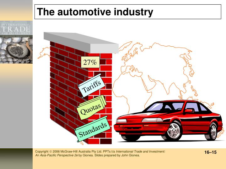 The automotive industry