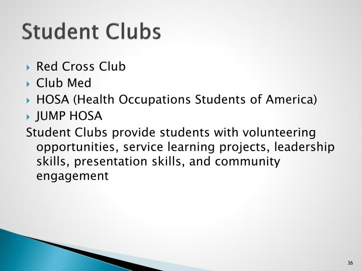 Student Clubs