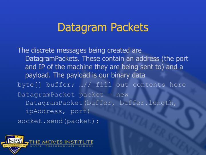 Datagram Packets