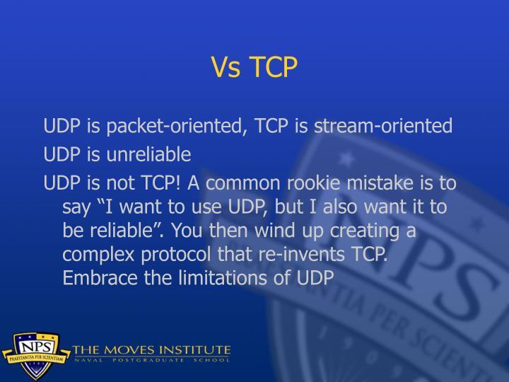 Vs TCP
