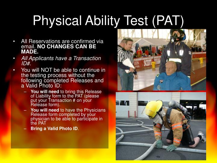 Physical Ability Test (PAT)