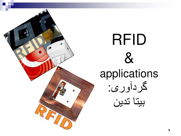 Rfid applications