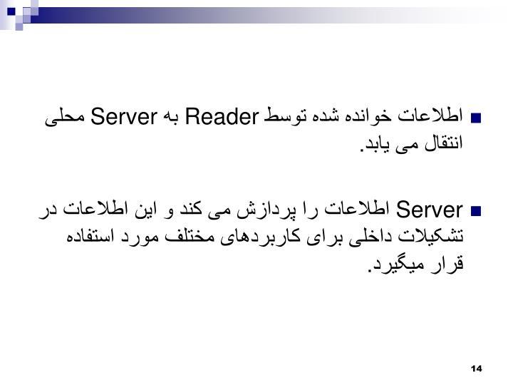 اطلاعات خوانده شده توسط
