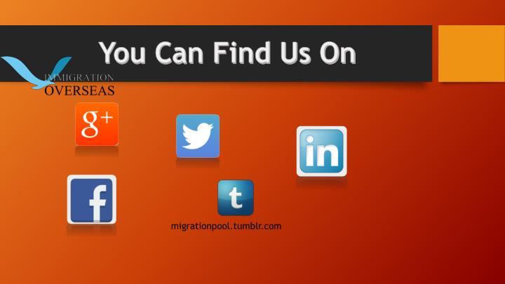 You Can Find Us On