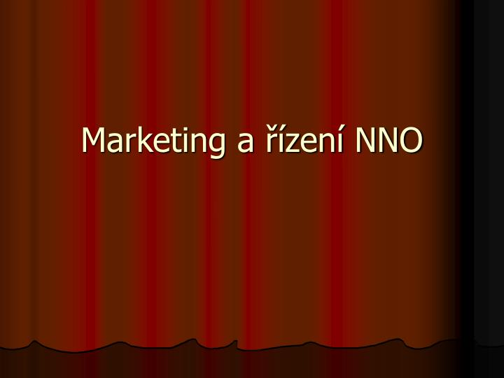 Marketing a zen nno