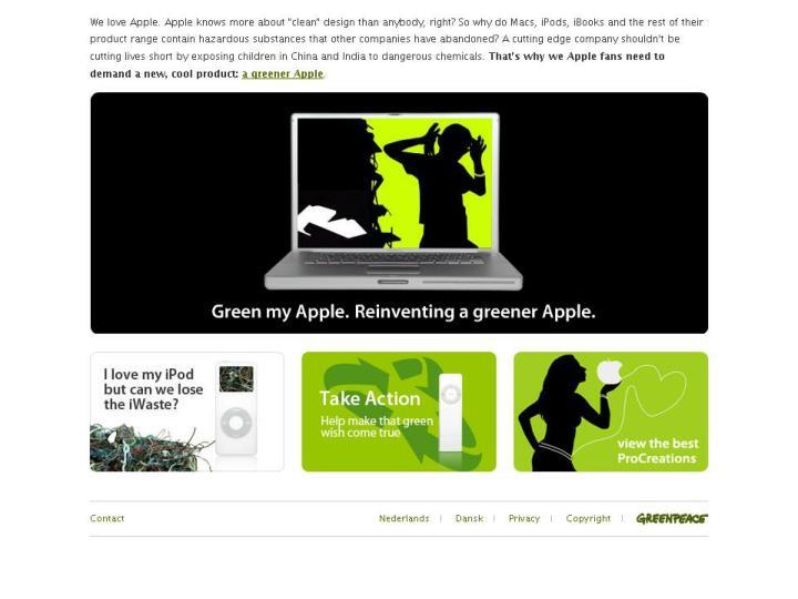 Green my Apple
