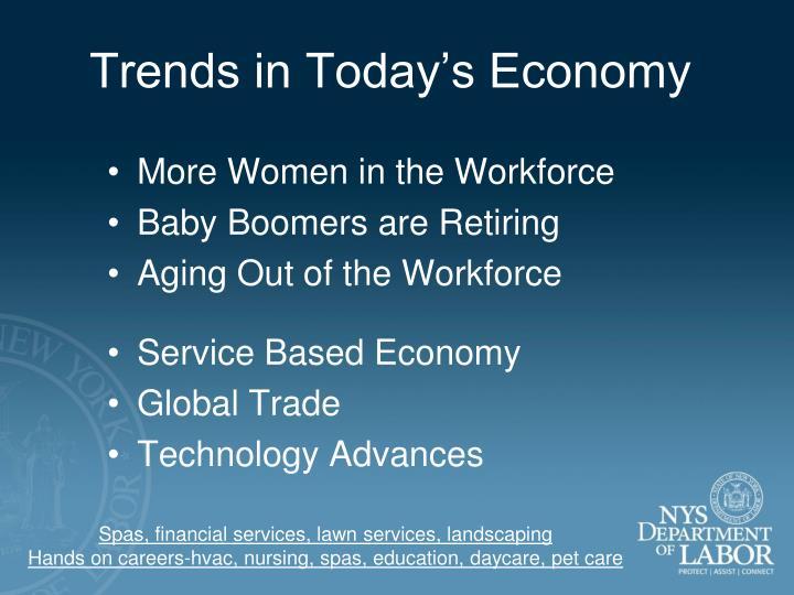 Trends in Today's Economy