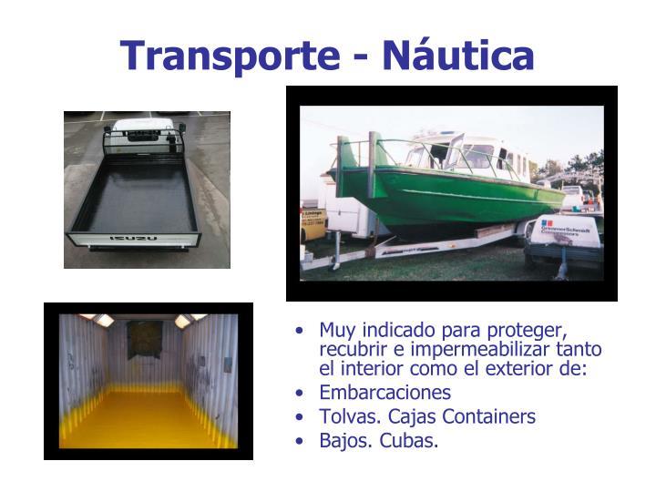 Transporte - Náutica