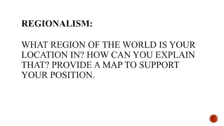 Regionalism: