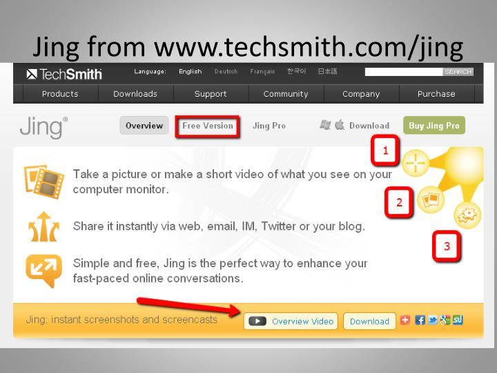 Jing from www.techsmith.com/jing