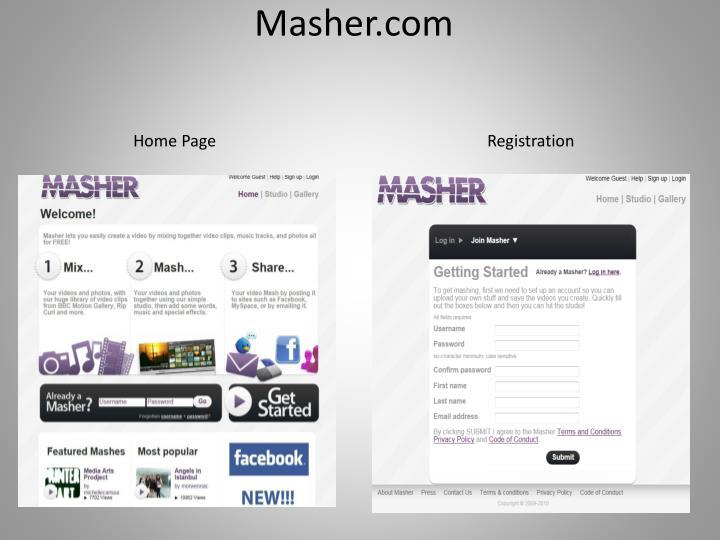 Masher.com