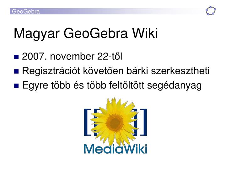 Magyar GeoGebra Wiki