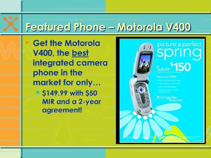 Featured Phone – Motorola V400