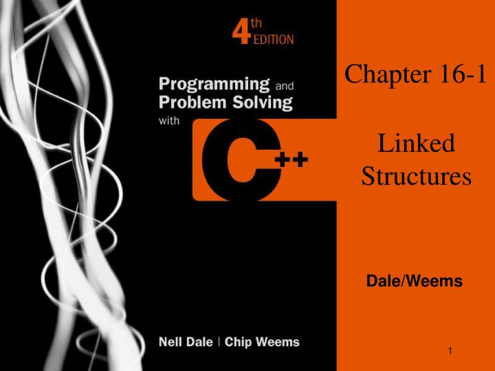 Chapter 16 1 linked structures
