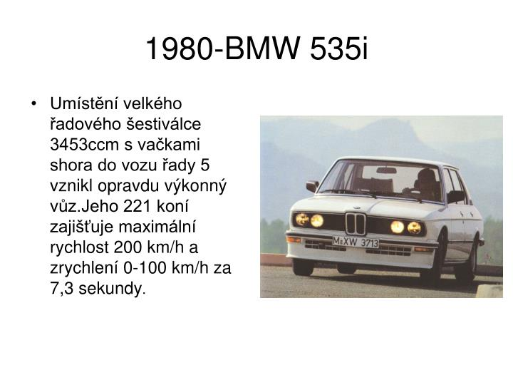 1980-BMW 535i