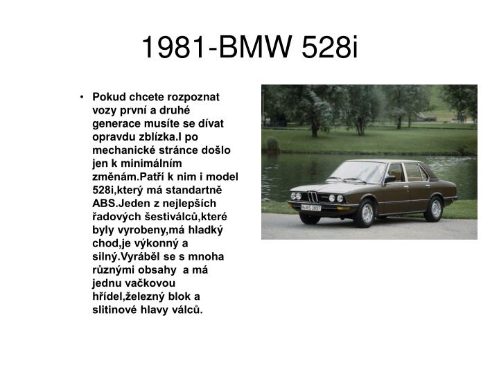 1981-BMW 528i
