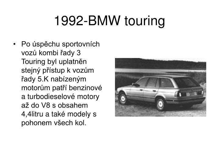 1992-BMW touring