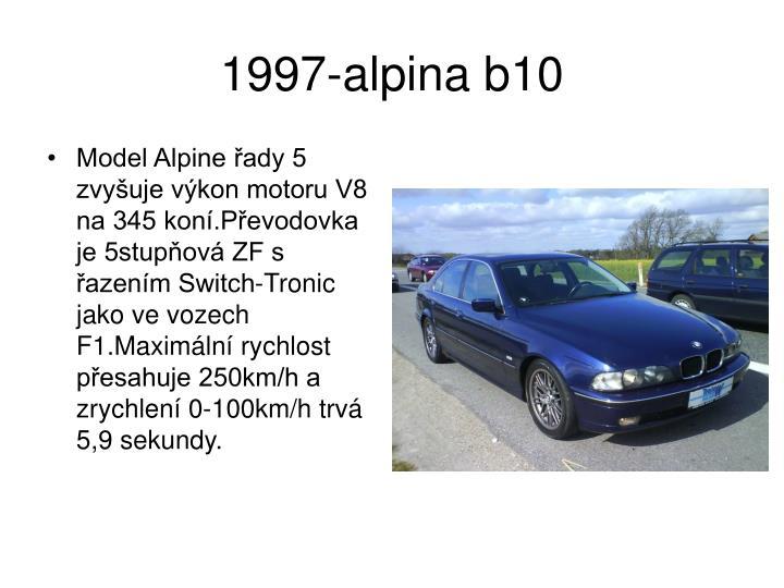1997-alpina b10