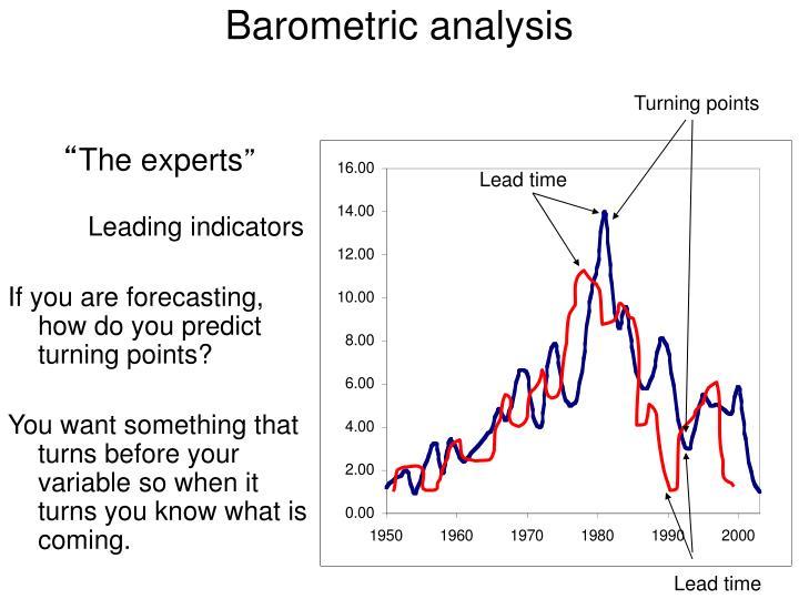 Barometric analysis