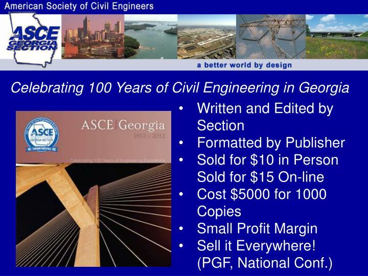 Celebrating 100 Years of Civil Engineering in Georgia
