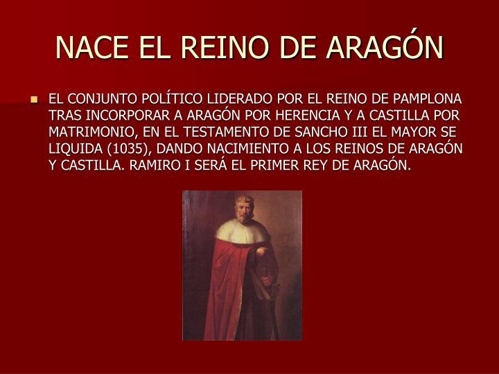 NACE EL REINO DE ARAGÓN