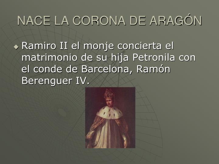 NACE LA CORONA DE ARAGÓN