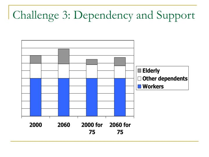 Challenge 3: Dependency and Support