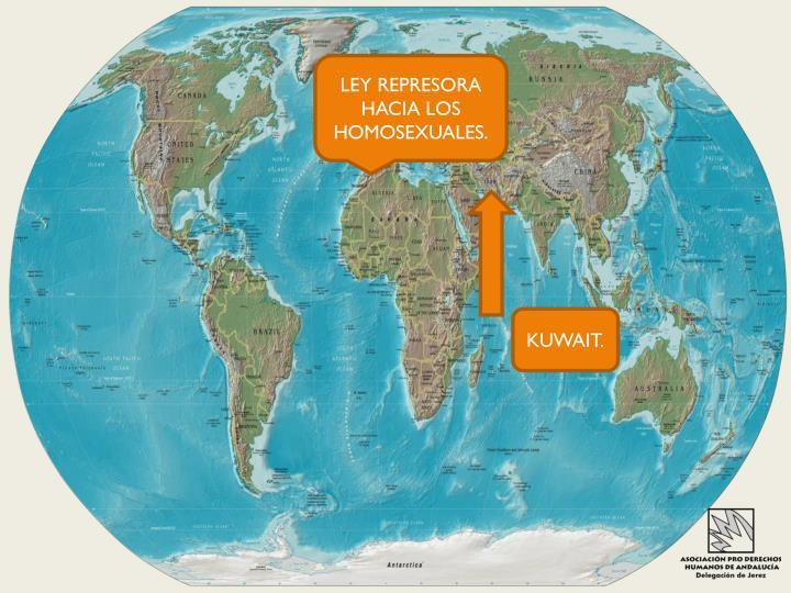 LEY REPRESORA HACIA LOS HOMOSEXUALES.
