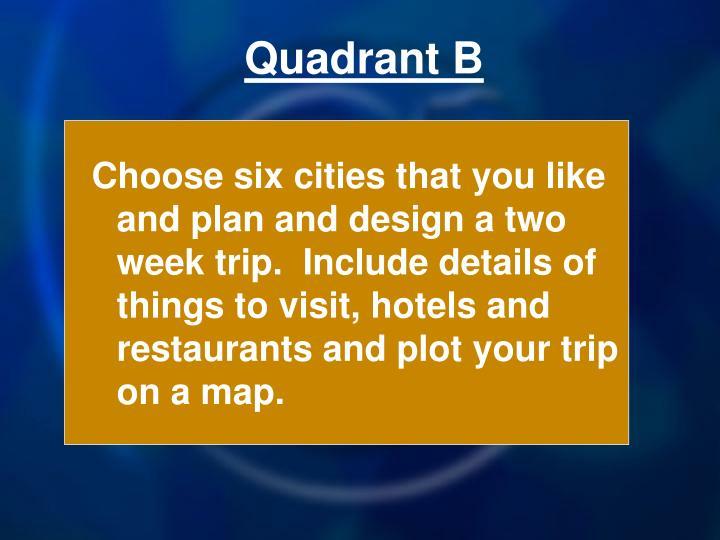 Quadrant B
