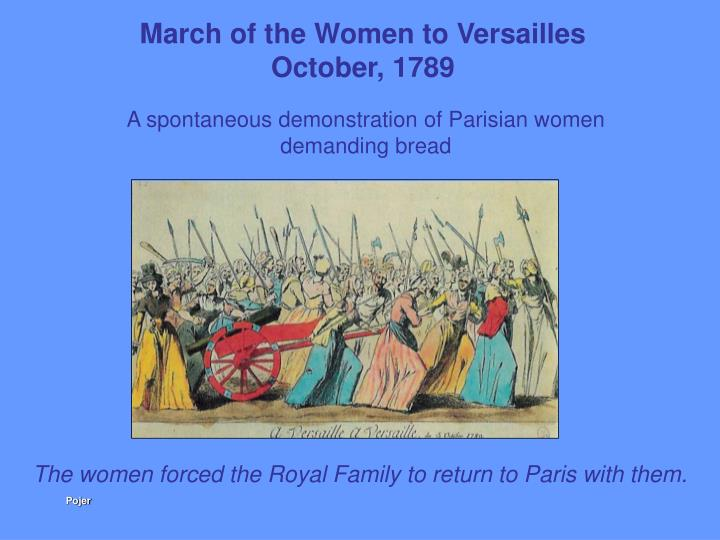 March of the Women to Versailles