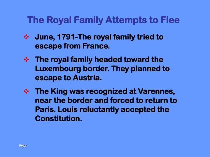 The Royal Family Attempts to Flee