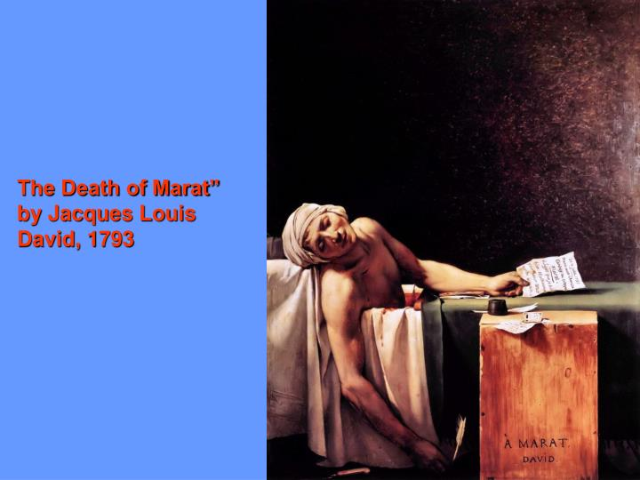 The Death of Marat""