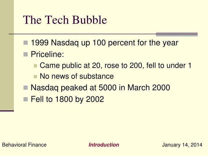 The Tech Bubble