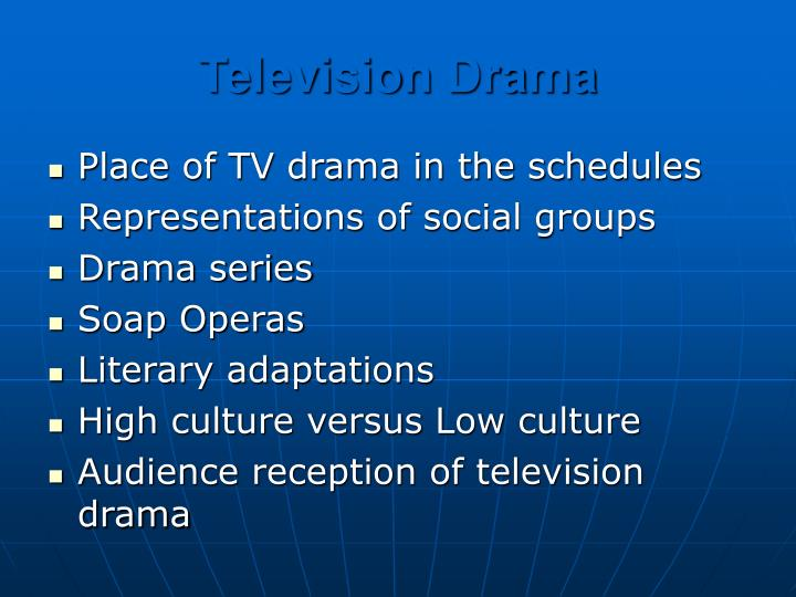 Television Drama