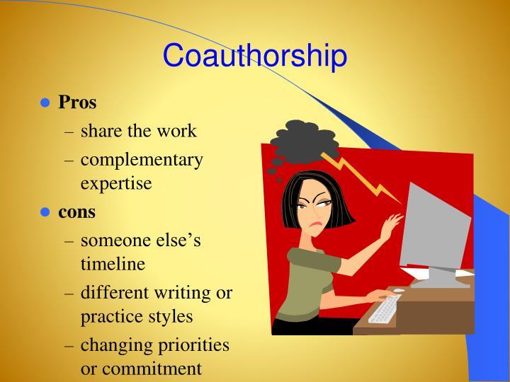 Coauthorship