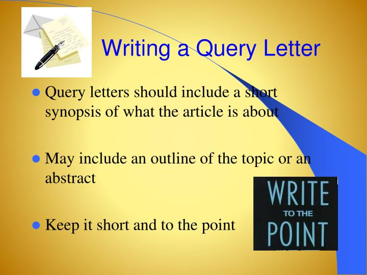 Writing a Query Letter