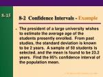 8 2 confidence intervals example
