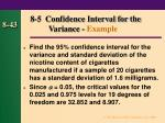 8 5 confidence interval for the variance example
