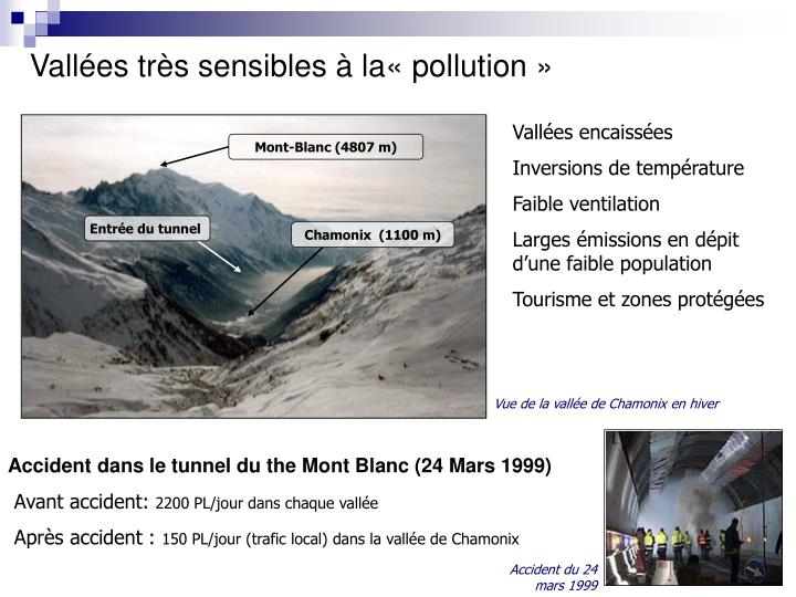 Vallées très sensibles à la«pollution»