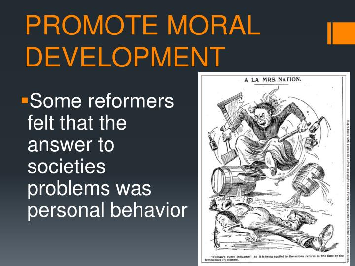 Promote moral development
