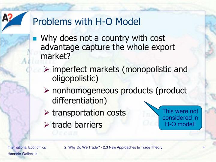 Problems with H-O Model