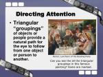 directing attention7
