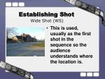 establishing shot