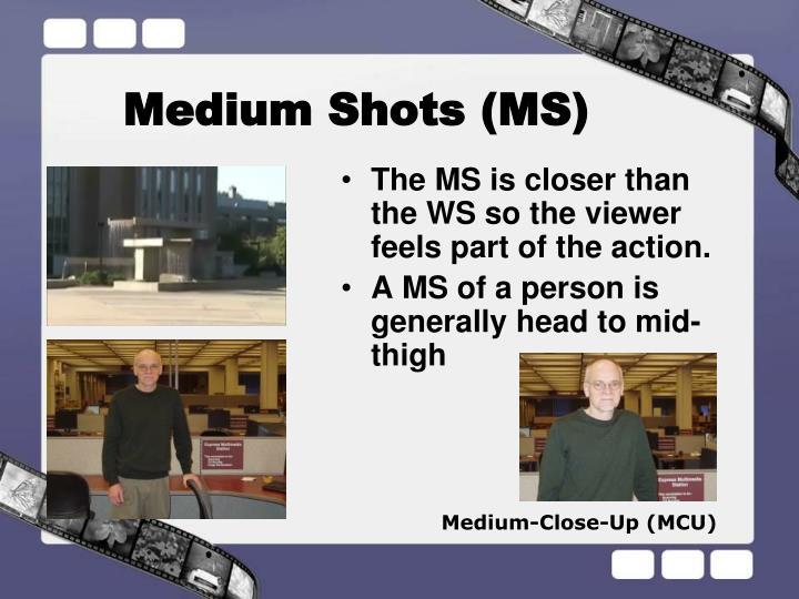 Medium Shots (MS)